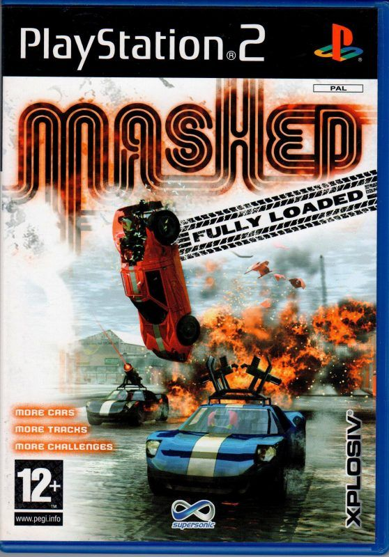 Mashed Arcade Console Playstation Games Video Games
