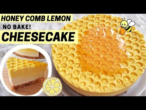 No Bake Honeycomb Lemon Cheese Cake Resep Cheesecake Tanpa Oven Youtube Lemon Cheese Cheesecake No Bake Lemon Cheesecake