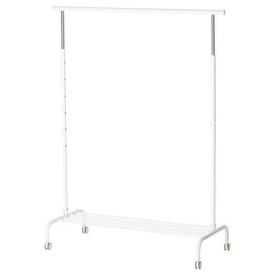 RIGGA Portant - IKEA pour le rangement de vêtements au sous-sol