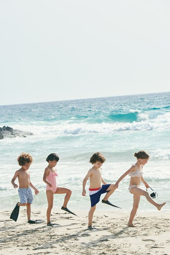 fotos de crianças tumblr na praia notáveis