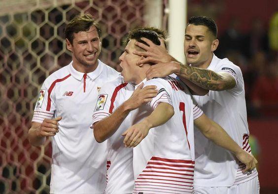 Vitolo en el Sevilla 2  Athletic Bilbao 0