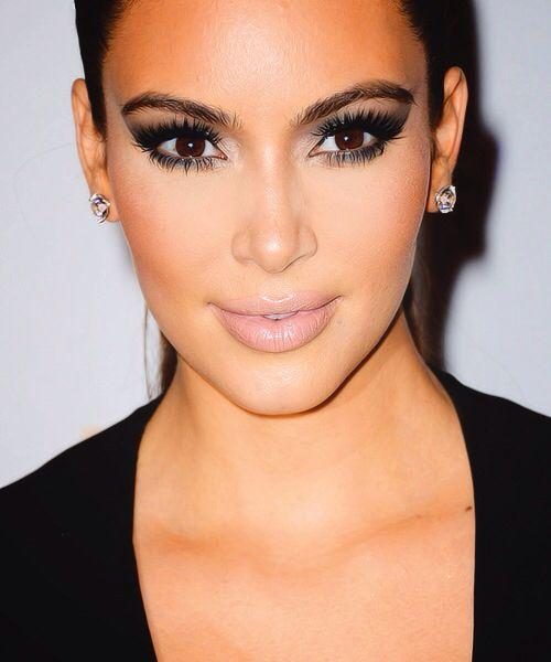 Kim kardashian smokey eye makeup | Prom x 2 | Pinterest ...