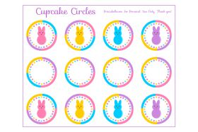 Cupcake circles
