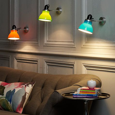 Anglepoise Wall Lights: Buy Anglepoise Type 1228 Wall Light Online at johnlewis.com,Lighting