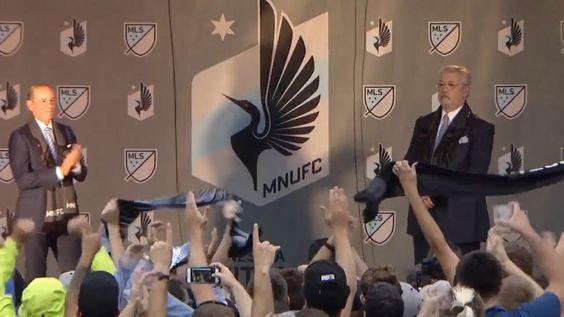 Minnesota United FC make their MLS debut next season