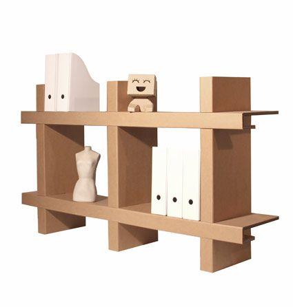 Estanteria carton cartonlab cardboard pinterest - Estanteria carton ...