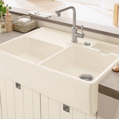 Villeroy Boch Butler 90 Double Bowl Sink Modules Kitchen Sink