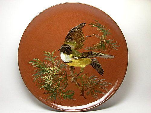 Minton Bird Plate - Artist: William Mussill