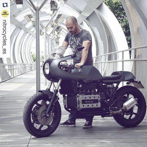 Fotografiando los detalles moteros siempre con mis amigos @nitrocycles_es Así siempre! #Repost @nitrocycles_es with @repostapp ・・・ #bmw kafe proyect! #caferacer #bratstyle #custom #motorcycle #vintage...