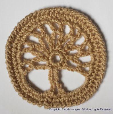 Crochet Pattern Writer : Tree of Life -free crochet pattern- (365 Crochet ...