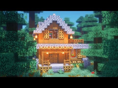Minecraft How To Build A Spruce Starter House Youtube Minecraft House Tutorials Minecraft Starter House Minecraft House Designs