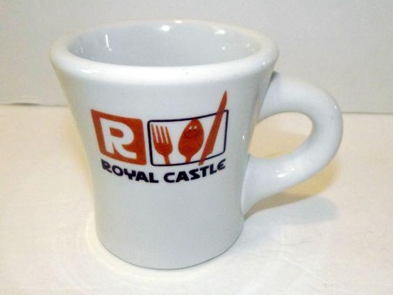 Vintage Jackson China Royal Castle Restaurant Coffee Mug - Picked: 49 cents SOLD: $25.49