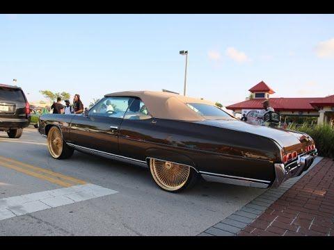 Whipaddict 71 Chevrolet Impala On 24 All Gold Daytons Kandy