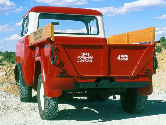 Rear of a Jeep FC-150.
