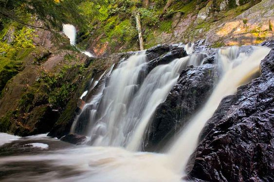 Chequamegon nicolet national forest morgan falls for Morgan falls