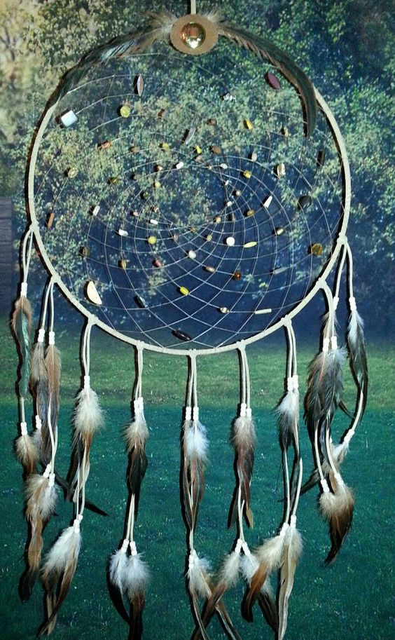 19 Dream Catcher-Large Dream by OurLostAngelsDesigns on Etsy