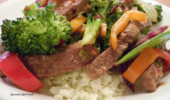 Gourmet Girl Cooks: Oh My...It's Beef & Veggie Stir-fry!