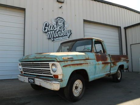 1968 ford f 100 gas monkey garage classic cars for Garage ford 59