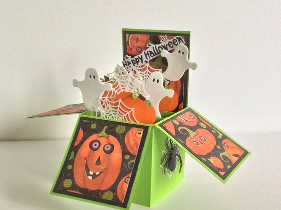 Halloween Crafts Made Of Paper