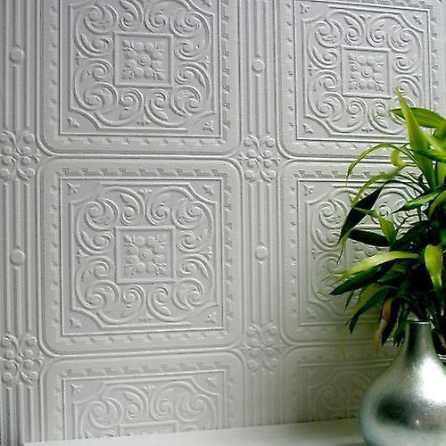 Papier Peint Peindre Luxe Vinyle Gaufre Turner Tuile Anaglypta Papier Peint Papier Peint Texture Papier Peint Relief