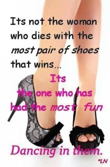 She who has the most fun ... wins!