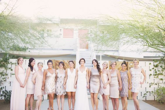 Cool Palm Springs Wedding at the Ace Hotel   Claire Eliza Photography   Bridal Musings Wedding Blog 13