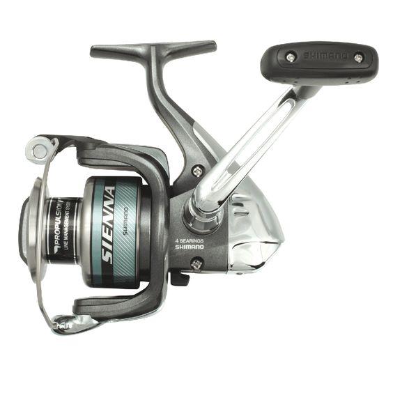 Carrete Shimano Sienna FD, carrete para pesca spinning.