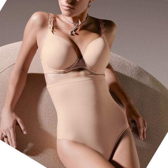 perle plus size strapless bra and control shapewear by prima donna