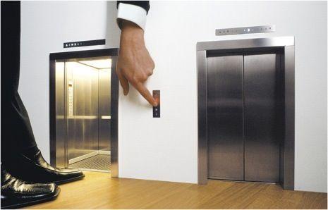 Lift by Maurizio Cattelan