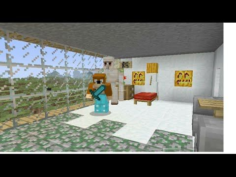 Building Stampy S House 3 Hilda Henry S Room Youtube Stampy Building Panic Rooms