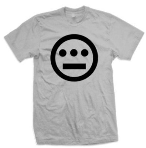 "Black on H. Grey ""Classic"" t-shirt-www.Hieroglyphics.com"