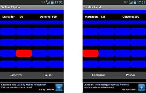 Se Más Rápido, juego Android solo para los más rápidos con el dedo