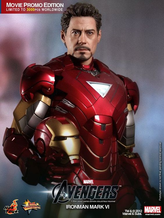 Iron Man Mark VI by Hot Toys
