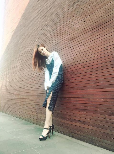 Check out the gorgeous picture of T-ara's EunJung ~ T-ara World ~ 티아라
