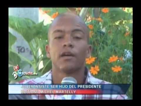Joven insiste ser hijo del Presidente Haitiano, Michel Martelly #Video - Cachicha.com