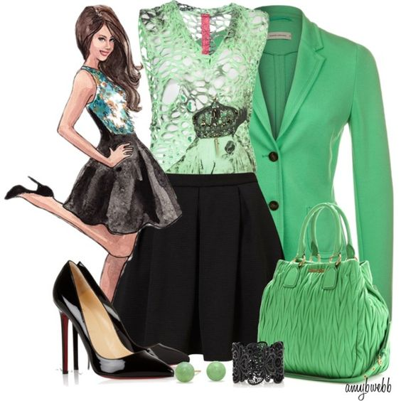 A fashion look from March 2013 featuring CESAR ARELLANES tops, René Lezard blazers y Topshop skirts. Browse and shop related looks.