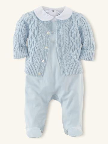 3-Piece Sweater & Bodysuit Set - Outfits & Gift Sets   Layette Boy (Newborn–9M) - RalphLauren.com