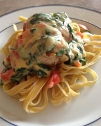 Tuscan Garlic Chicken (Olive Garden Copycat).  Tastes just like your ordered out from Olive Garden!
