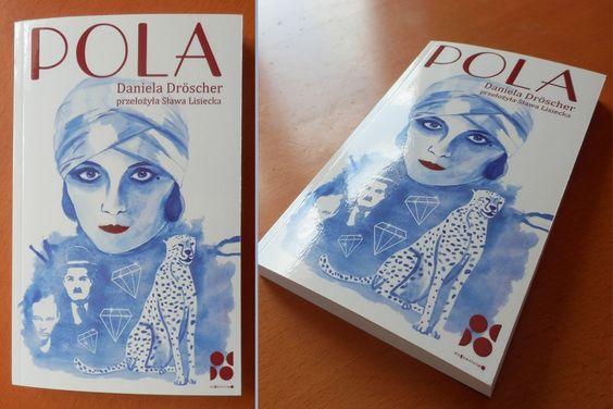 Moja ilustracja na okładce książki o #polanegri