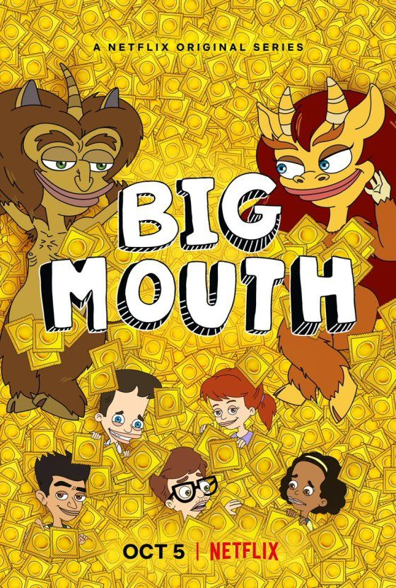 Big Mouth Season 2 In Review The Game Of Nerds Big Mouth Netflix Mouth
