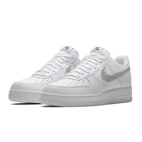 Nike Air Force 1 07 Lv8 Just Do It Pack Lntc White White Black
