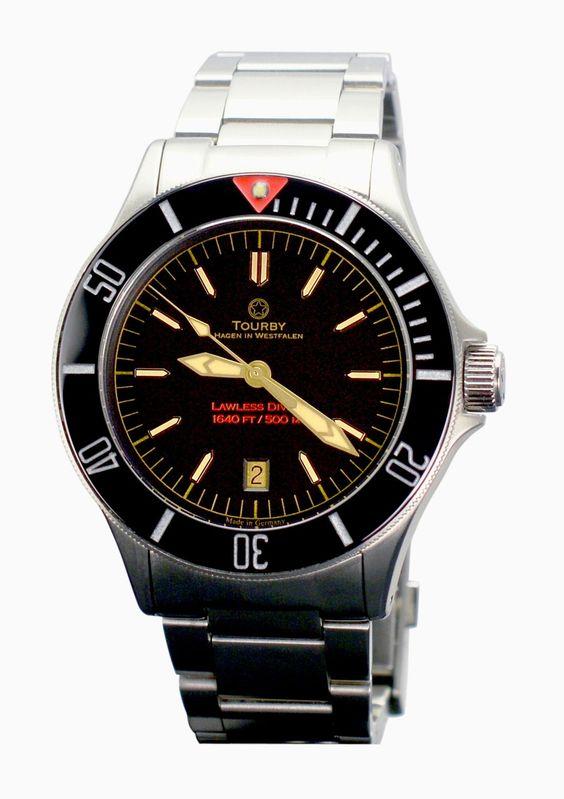 Taucheruhr Tourby Watches Lawless 42 Vintage » Das Uhren Portal: Watchtime.net