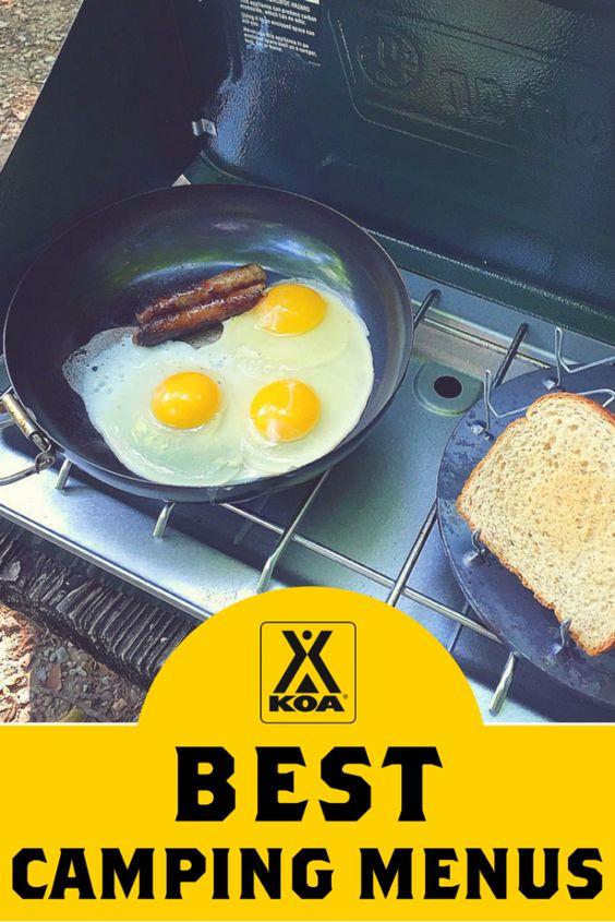 KOA's Best Camping Menus