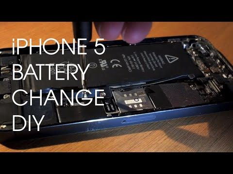 How to change your iPhone 5 Battery - YouTube