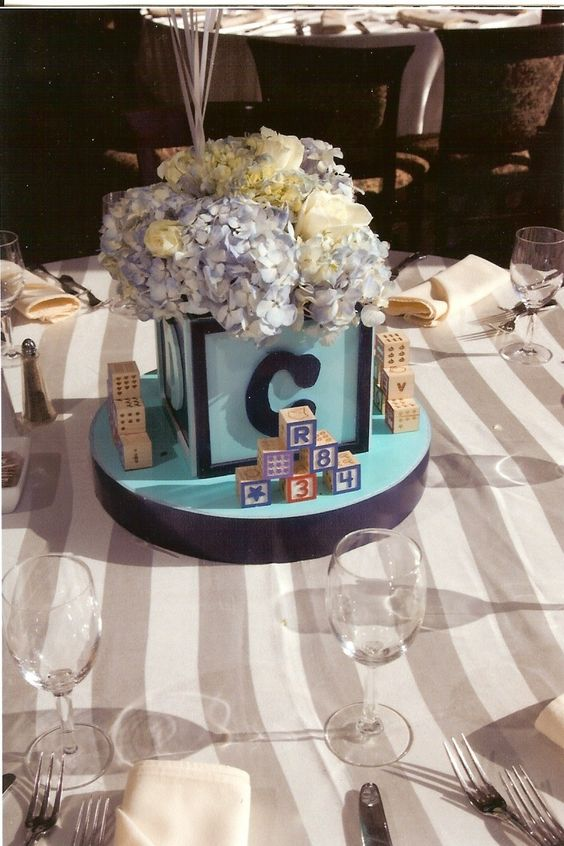 Baptism decoration centerpiece i can make this with a