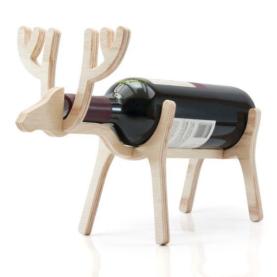 Designn Maniaa >> Vinu Alce >> suporta para vinho; porta-vinho; porta vinho; vinu; dia dos pais; disdospais2013; alce; diadospais2013
