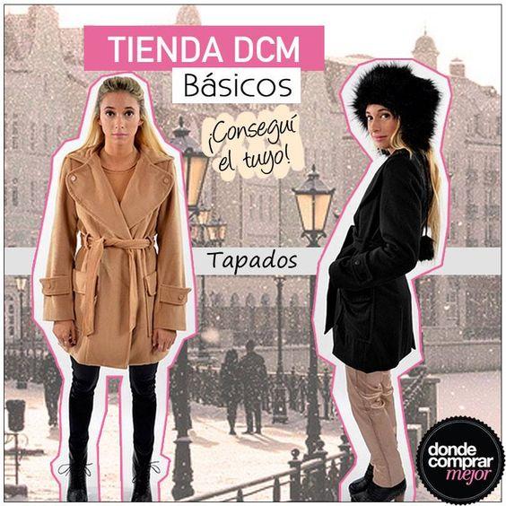 Los básicos dicen presente en Tienda DCM. Encontrá el tapado que te va a acompañar esta temporada: Tapado Suela: www.tiendadcm.com/venta/Tapado+Leon+Suela/79778 Tapado Negro: www.tiendadcm.com/venta/Tapado+Leon+Negro/79769