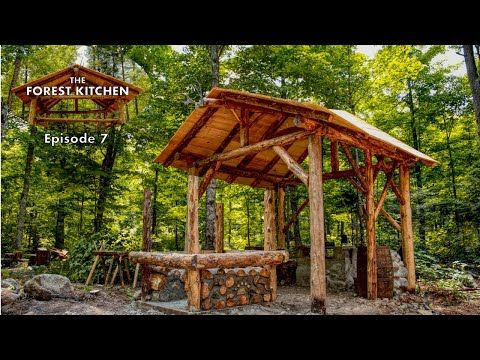 28 Clay Pizza Oven Foundation The Forest Kitchen Off Grid Log Cabin Build Ep 7 S1 Youtube Off The Grid Clay Pizza Oven Log Cabin