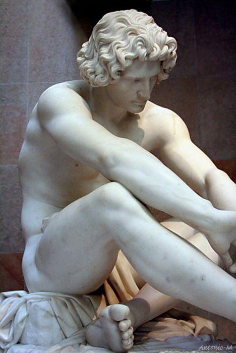 Le Désespoir, Jean-Joseph Perraud   Musée  d'Orsay...