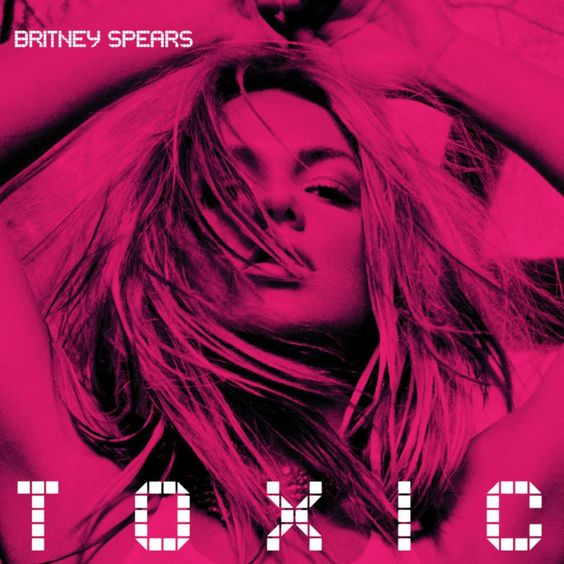 Britney Spears – Toxic (single cover art)